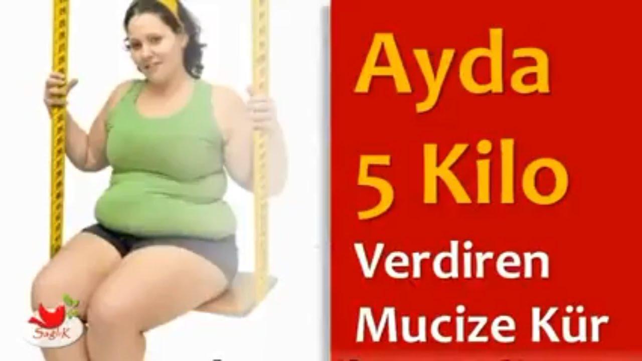 Ayda 5 Kilo Verdiren Diyet