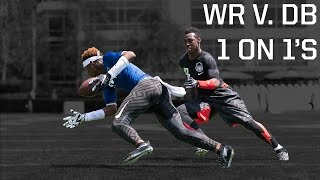 The Opening 2015: WR vs DB 1 on 1