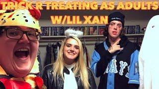TRICK R TREATING WITH LIL XAN!! - HALLOWEEN 2018 VLOG