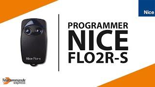 Programmer une Télécommande Nice FLO2R