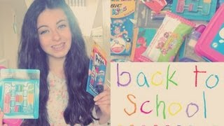 Back To School | Supplies Haul 2013 Thumbnail