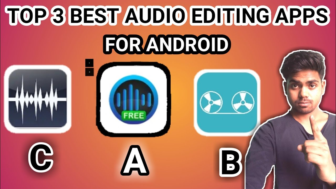 Top 3 Audio Editing Apps Best Audio Editing App Best Audio Editors For Android Rj Sandeep Youtube