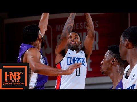 Sacramento Kings vs LA Clippers Full Game Highlights / July 8 / 2018 NBA Summer League