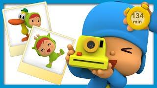 📸 POCOYO AND NINA - Funny photos [134 min] | ANIMATED CARTOON for Children | FULL episodes