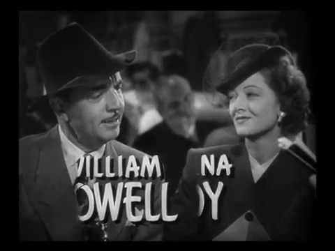 The Thin Man Goes Home 1945 Trailer  ~  William Powell