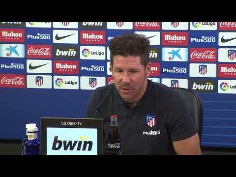 Rueda de prensa íntegra de Diego Pablo Simeone antes del Barça