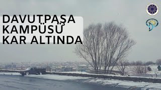 Davutpaşa kar altında - Yıldız Teknik Üniversitesi