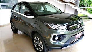 2020 Tata Nexon BS6 | Foliage Green | Walkaround Review - 2020 Tata Nexon | Facelift