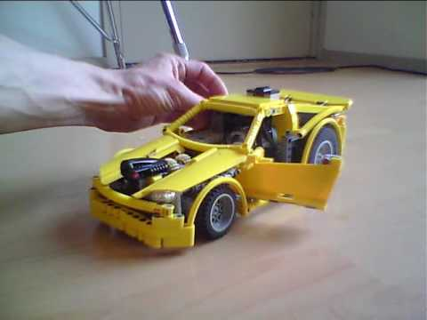 Small Yellow Legor Racecar With Instructions Youtube