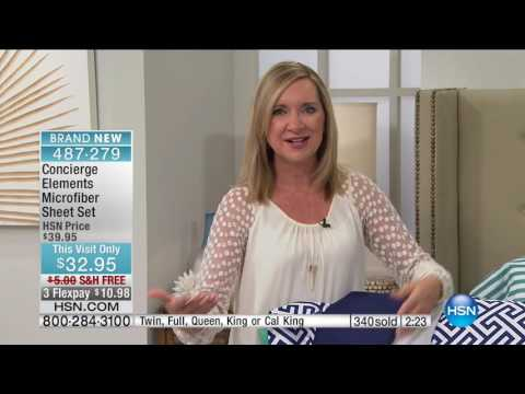 HSN | Concierge Collection Bedding 09.17.2016 - 01 PM