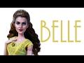 Emma Watson Belle Doll Repaint [ BEAUTY AND THE BEAST ]