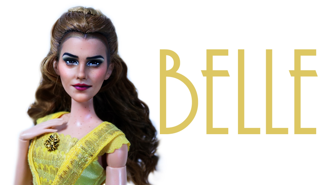 Emma Watson Belle Doll Repaint BEAUTY AND THE BEAST