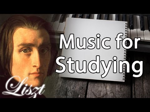 Liszt Classical Music for Studying, Concentration, Relaxation   Study Music   Piano Instrumental