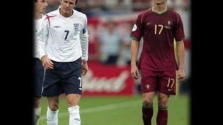 David Beckham vs Cristiano Ronaldo! Who Is The Free Kick King?
