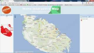 Webmapping Malta