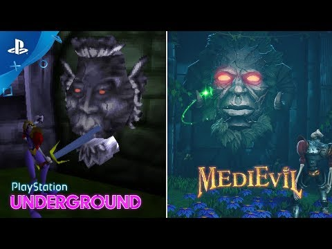 MediEvil – 1998 vs. 2019 Gameplay Comparison PlayStation Underground