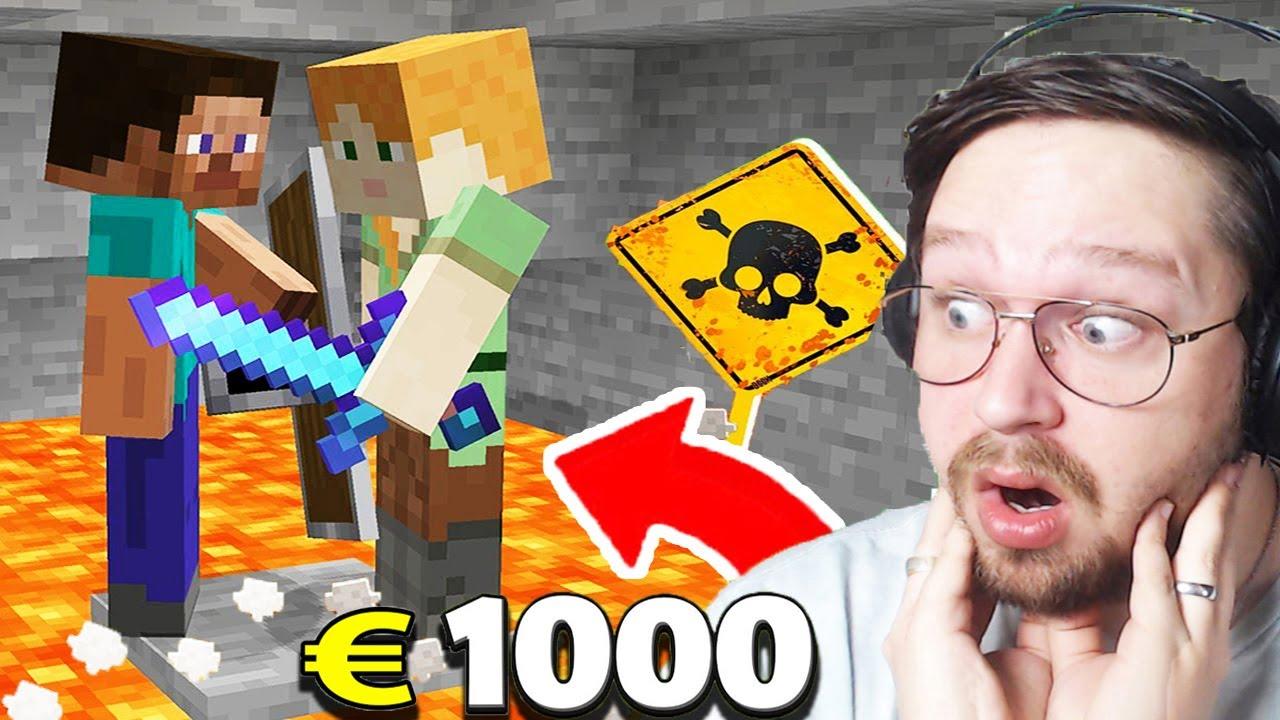 Le Dernier à Survivre GAGNE 1000 € Cash ! ( le banquier m'a tué )