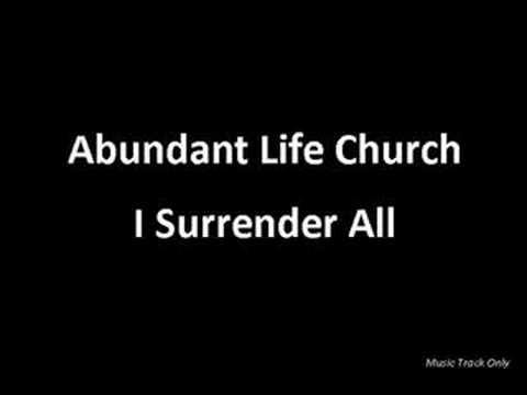 ALC - I Surrender All