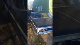 Drops 1964 impala ss 327 4 speed fuelie