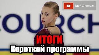 ИТОГИ КОРОТКОЙ - Девушки. Юниорское Гран-При в Куршевеле 2019