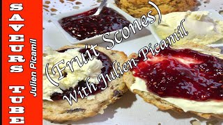 How to make the Perfect Fruit Scones &quotAward Winning Recipe&quot  with The French Baker  T.V. Chef Julien