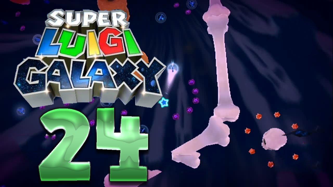 Lets Play Super Luigi Galaxy Part 24 Lila Münzen Challenges Youtube