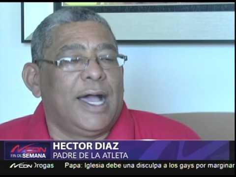 Joven se queja de poco respaldo de la Federación Dominicana de Atletismo para Olimpiadas