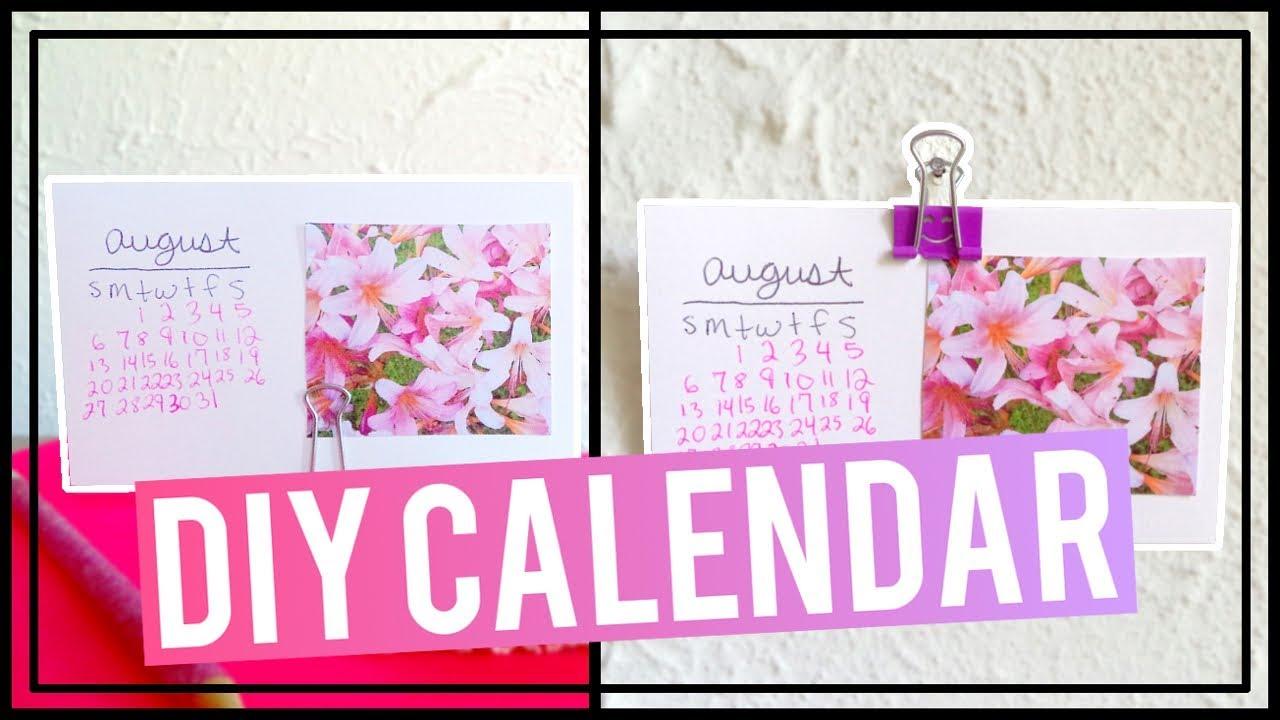 Diy index card calendar diy deskwall calendar youtube diy index card calendar diy deskwall calendar kristyandbryce Images