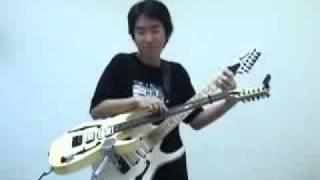 doremon guitar play