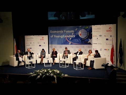 Amer Benouda intervention in the Economic forum of Young Leaders, Poland