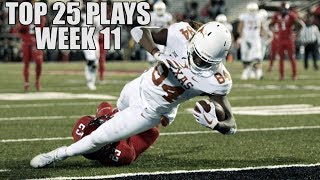 College Football Top 25 Plays 2018-19 || Week 11 ᴴᴰ