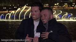 These 2 guys had the BEST wedding proposal in Las Vegas!