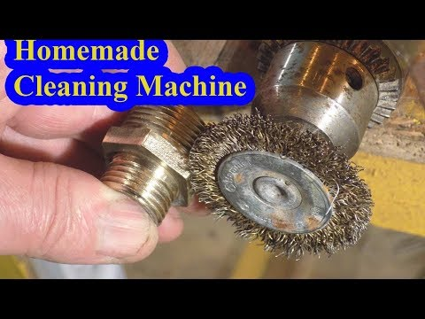 Homemade Cleaning Machine || Homemade Tools - Using a Drill