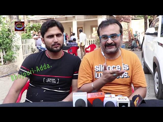संजय पांडेय और हबीब | जानिए क्या कहा Film Tere Sangh Yara ON LOCATION Sooting के बारे में
