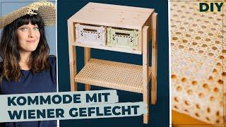 Boho Kommode & Nachttisch mit @Ella TheBee – Selber bauen im Boho Style #diymöbel