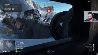 Battlefield V BETA #8 - Jestę czołgiem! ft. ŁosiuGra