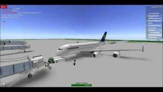 [Roblox] Vuelo A380 de Lufthansa