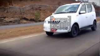 Mahindra mini Xylo caught with minimal cladding - OnCars Buzz