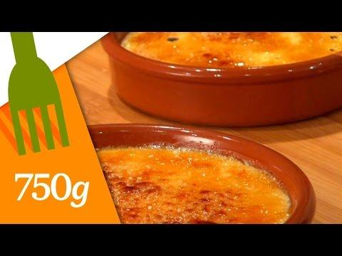 Recette de Crème Catalane - 750 Grammes