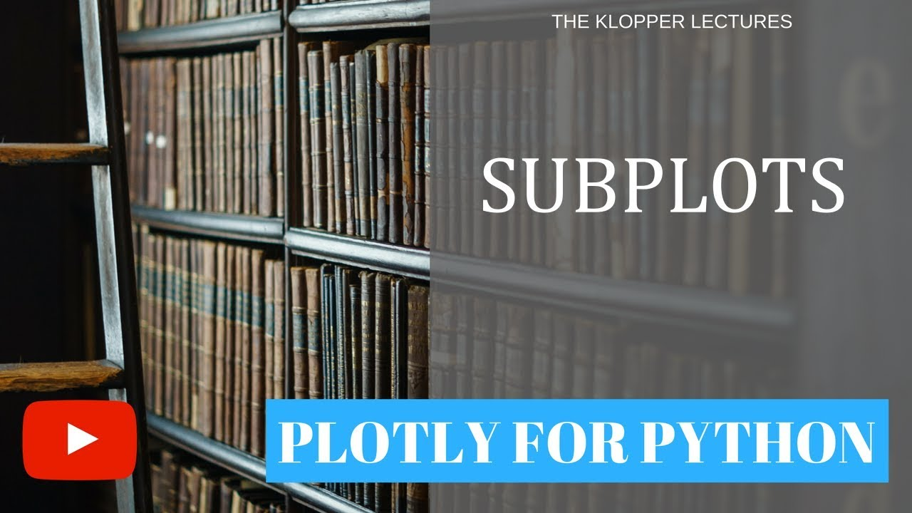 Subplots using Plotly for Python