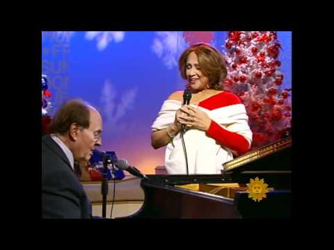 "Darlene Love performs ""White Christmas"" with Charles Osgood"