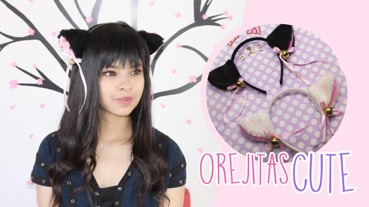 Diy Diadema De Gato Kawaii Cosplay Akari Beauty By Akari Beauty Official