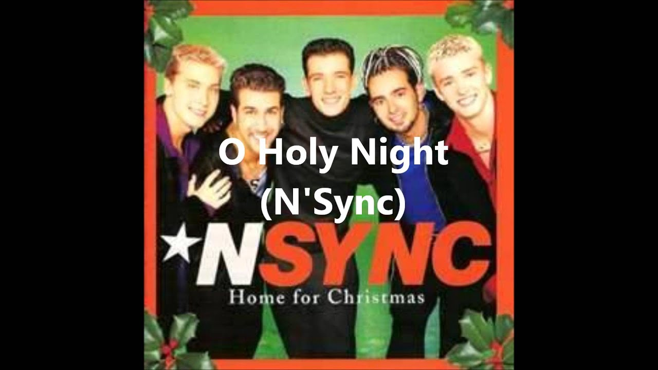O Holy Night (a cappella, N\'Sync) - YouTube