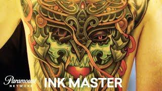 Tony Medellin's Winning 35 Hour Master Canvas | Ink Master: Grudge Match (Season 11)
