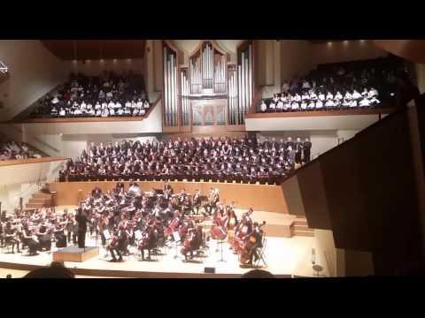 Palau de la Música . Valencia. Concierto Orquesta Conservatorio y Coros - 11-02-2016