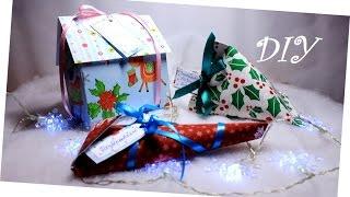 Готовимся к Новому году: Как упаковать подарок своими руками (3 идеи)   VeneraDIY