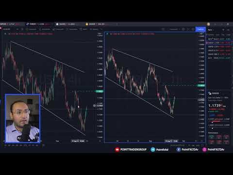 التحليل الفني: اليورو - الاسترليني - الذهب - الفضة من 24 إلى 27 أغسطس 2021 | Point Trader Group