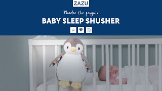 Video: Zazu Phoebe-Bruno Baby Sleep Shusher
