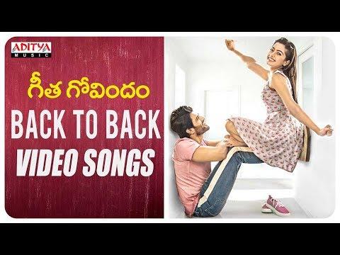 Geetha Govindam Back To Back Video Songs | Vijay Devarakonda