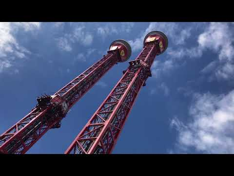 Thrill Towers - Ferrari Land PortAventura Barcelona 2017